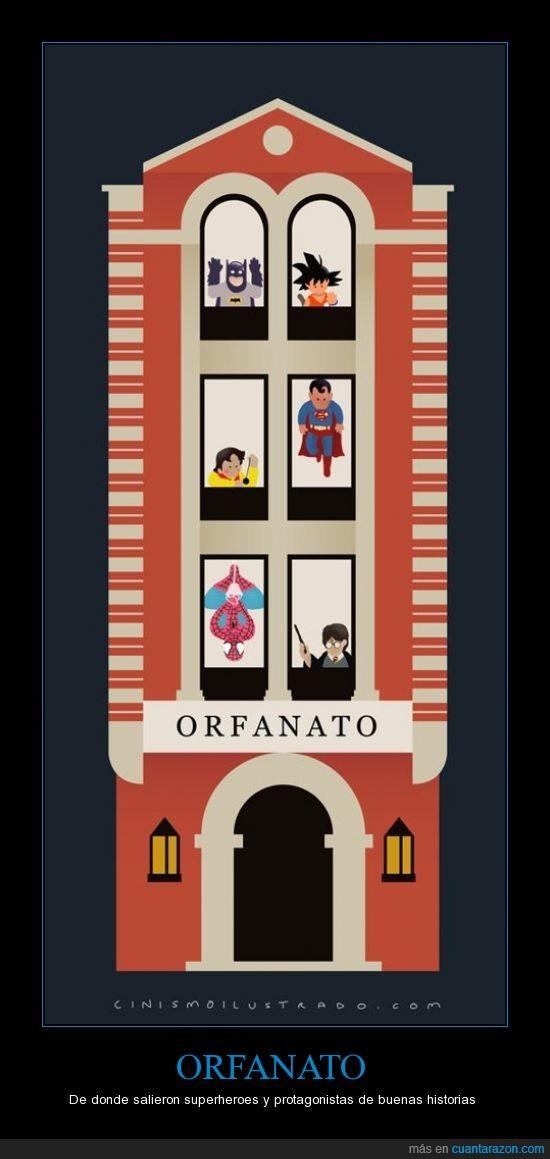 batman,candycandy,harry potter,orfanato,padres,spiderman,superheroes,superman