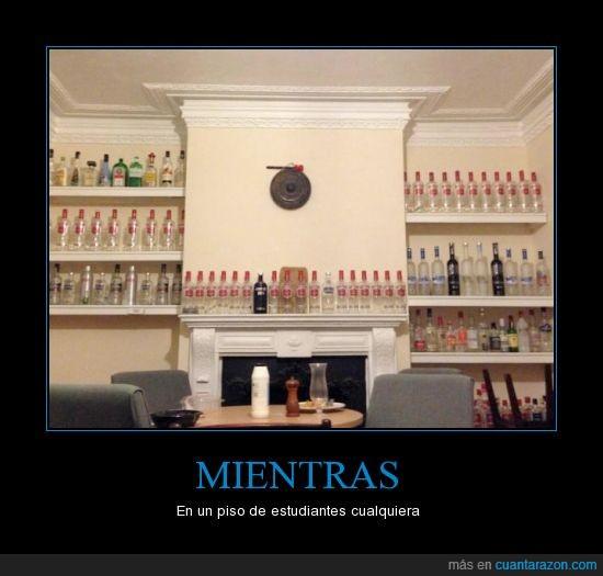 alcohol,beber,borracho,botella,estudiante,jagger,piso,vodka