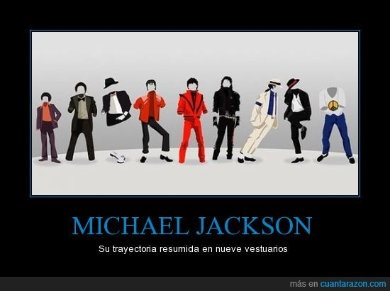 michael jackson,trayectoria,triller,vestuario,vida