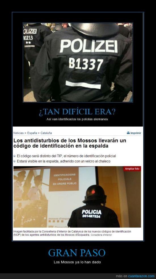 antidisturbios,código,mossos,mossos d'esquadra,policía