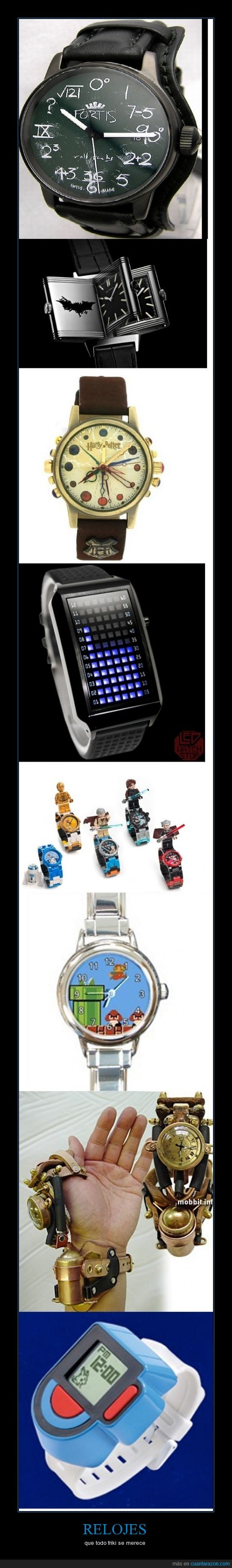 batman,frki,harry poterr,lego,matematicas,relojes,star wars