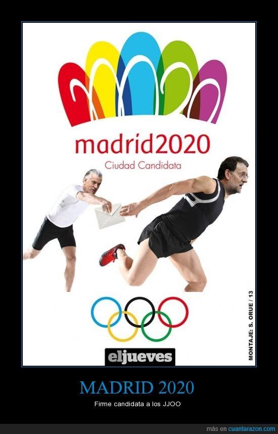 barcenas,jjoo,juegos olímpicos,madrid,pp,rajoy,sobre