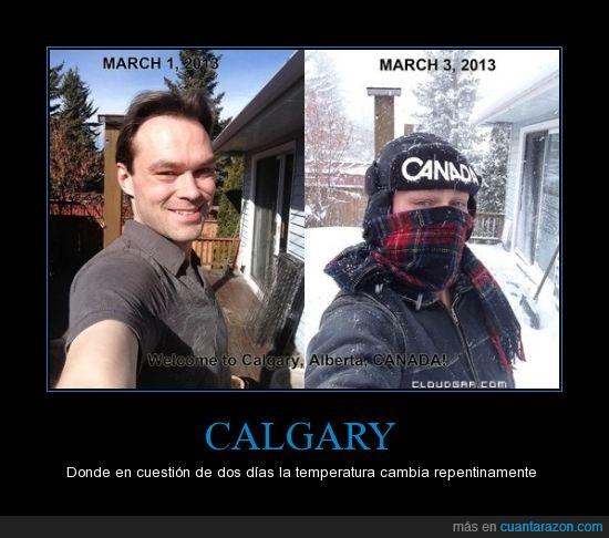 Alberta,Calgary,Canadá,temperatura