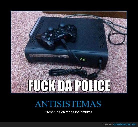 aberración,da police,locura máxima,playstation 3,usb,xbox 360