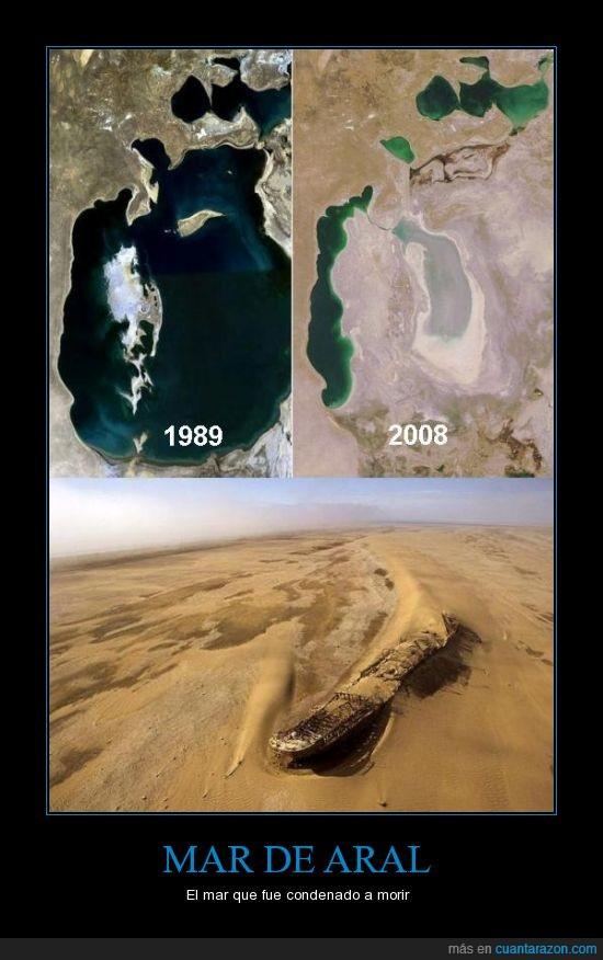 Conciencia,Desastre Ecologico,Humanidad,Mar,Mar Aral,Secar