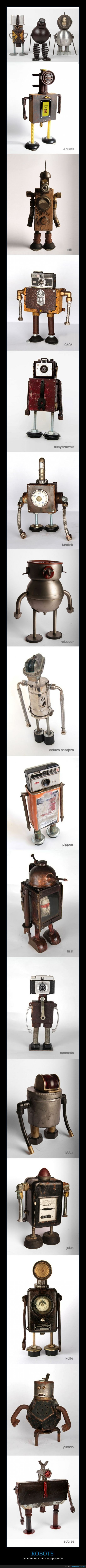 arte,dablada,escultura,metal,recicla,robot,robots
