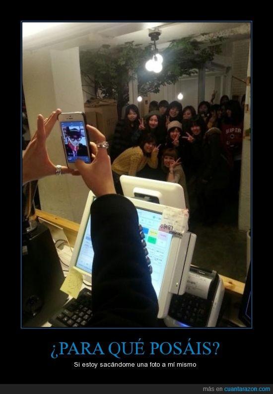 autofoto,foto,iphone,móvil,posar,tontacos,troll