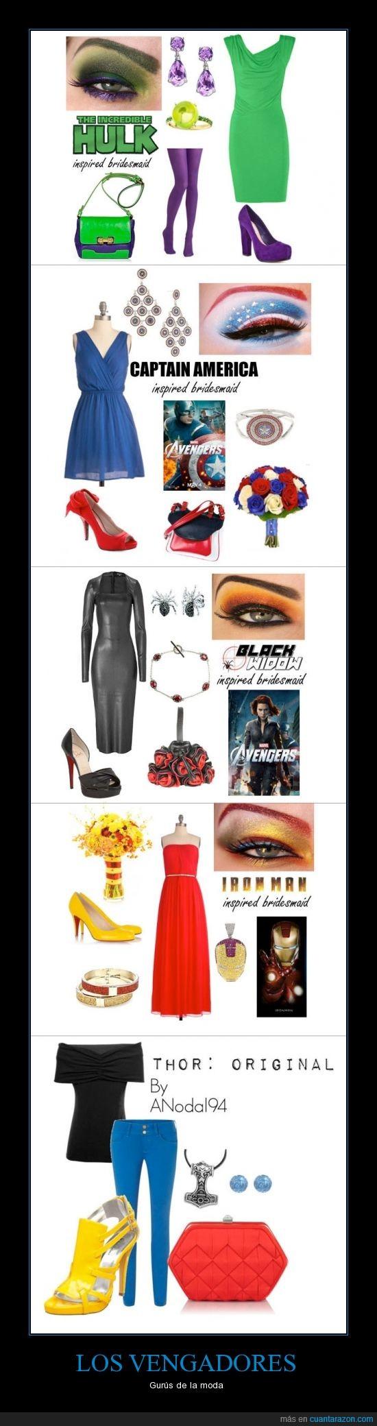 avenger,capitan,chica,conjunto,iron man,ironman,maquillaje,parecer,ropa,thor,vengador,viuda negra