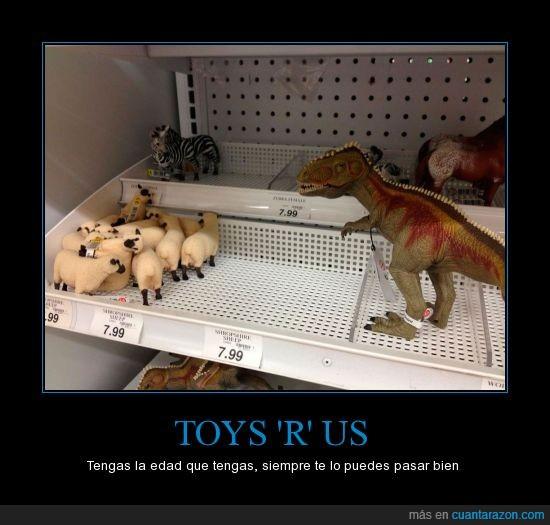 dinosaurio,esconder,huir,juguete,oveja,rex