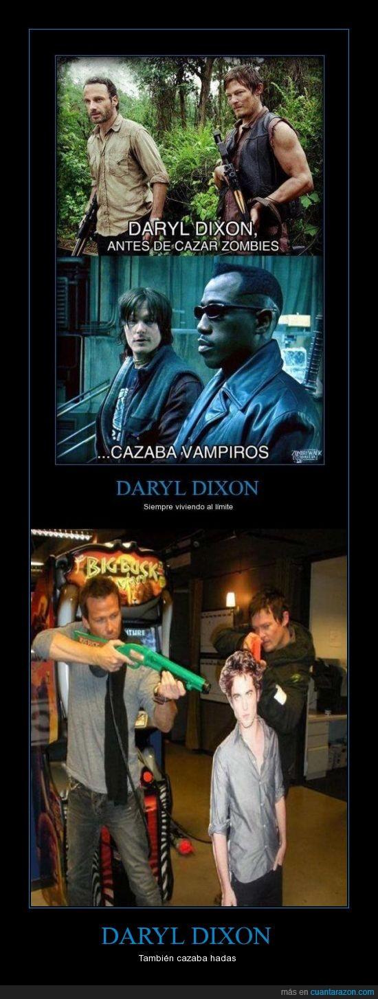 Crepúsculo,Daryl Dixon,The Walking Dead