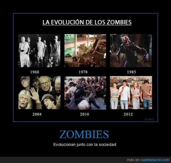 apariencia,evolución,móvil,smartphone,Zombies