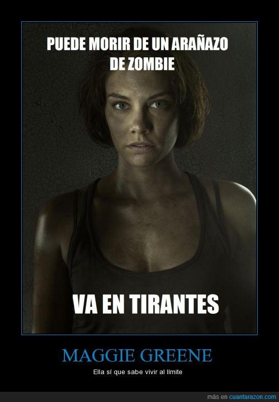 the walking dead,tirantes,zombie