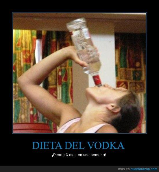dias,dieta,la dieta favorita en Rusia,semana,vodka