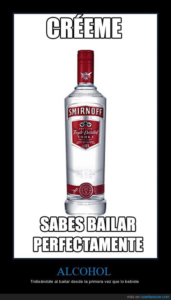 alcohol,bailar,beber,borracho,vodka