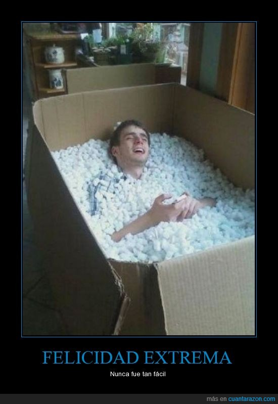 caja,cama,chico,dentro,grande,meter,porexpan