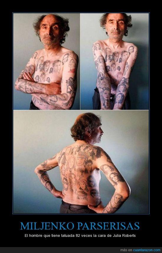 cara,julia roberts,loco graciaaaaas,tatuaje