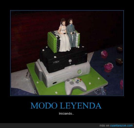 casarse,Día,importante,leyenda,pastel,tarta,Xbox 360