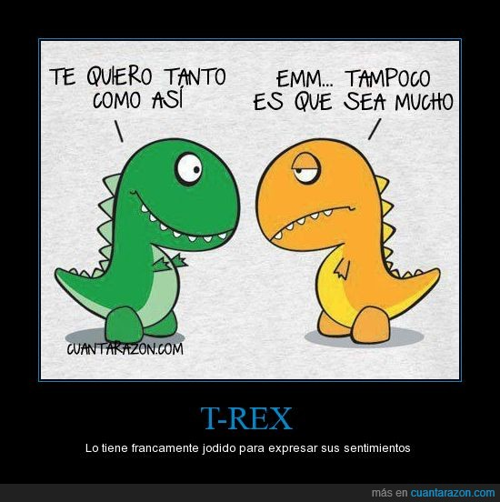 amor,brazicorto,brazos,dinosaurio,expresar,manos,t-rex,trex