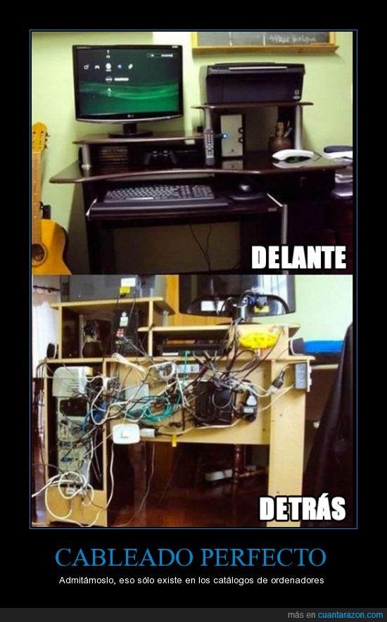 cables,desastre,jaleo,lios,mierda,ordenador