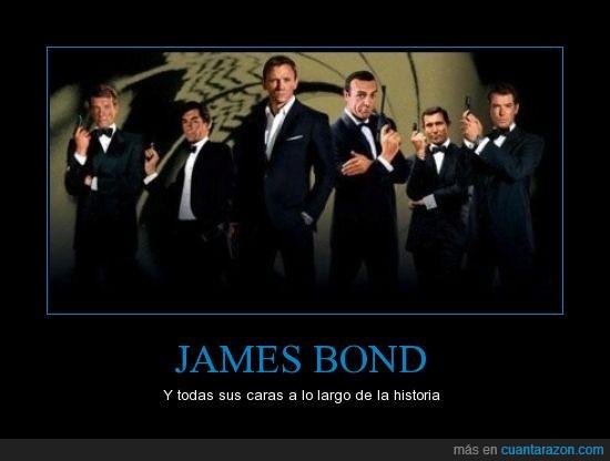 actores,agente 007,JAMES BOND,peliculas