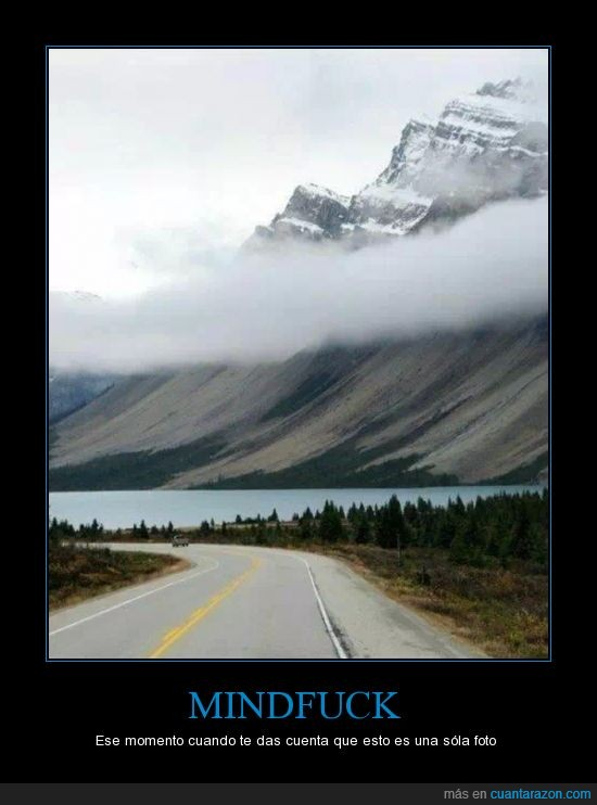 carretera,lago,mindfuck,montaña,una sola foto