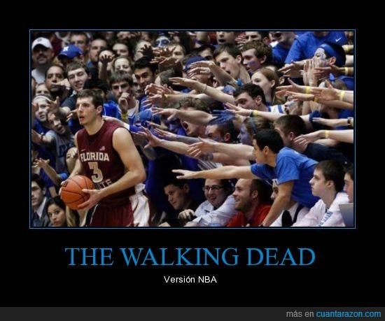 brazo,NBA,The walking dead,zombie
