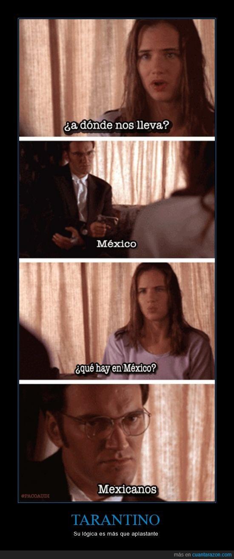 abierto hasta el amanecer,chica,México,tarantino