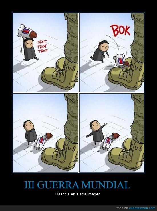 bombas,corea del norte,estamos jodidos,guerra,USA