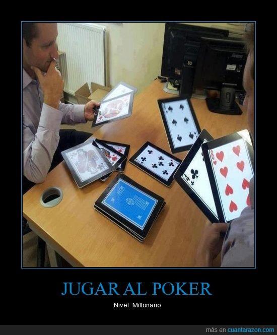 cartas,poker,tablets