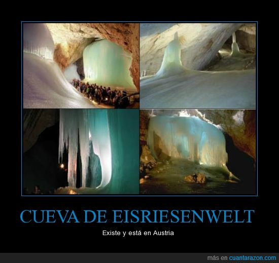 cueva de eisriesenwelt,hielo,personas,rocas