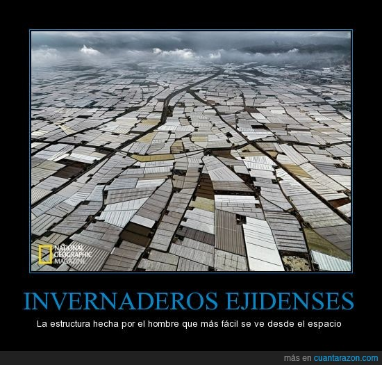 Almeria,Ejidenses,El Ejido,espacio,Invernaderos,Lo ha dicho pedro duque,Mar de plástico,NASA