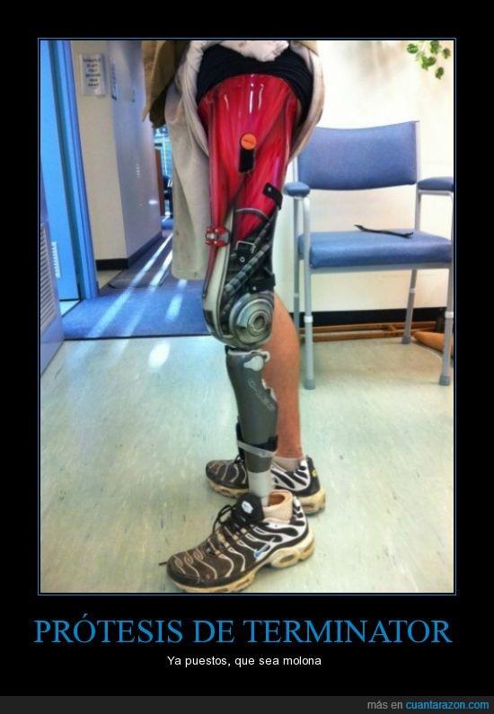 pintar,protesis,terminator