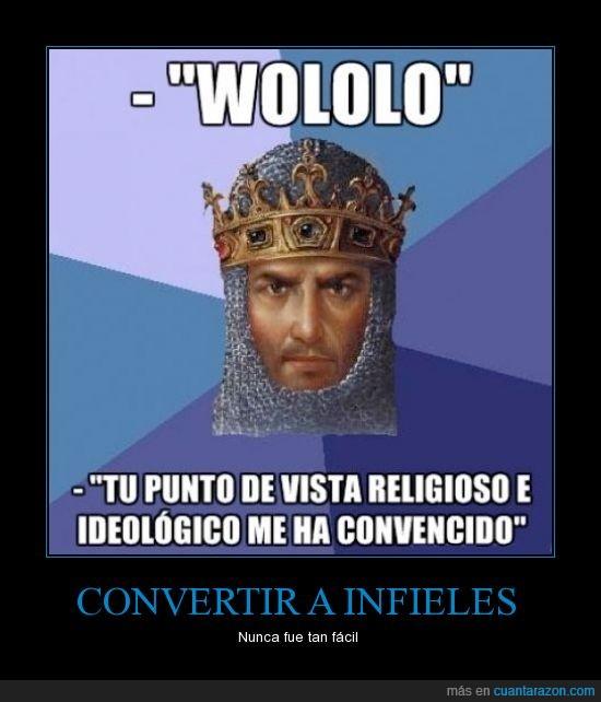 age of empires,aoe,convencer,punto,religion,religioso,sacerdore,vista,wololo
