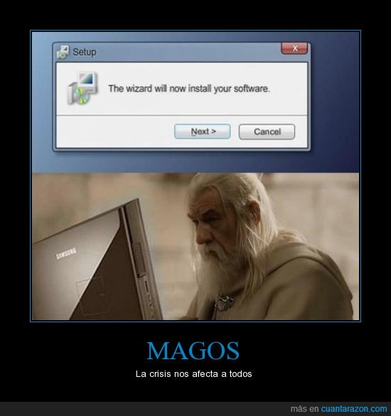 gandalf,instala,programa,windows,wizard