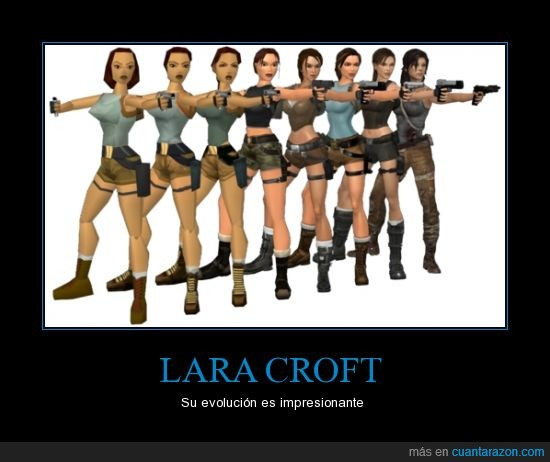 evolución,lara croft,personaje,saga,tomb raider,videojuegos