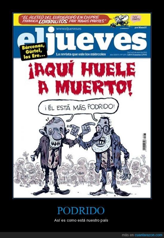 ElJueves,Podrido,Política,Rajoy,Rubalcaba