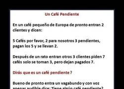 Enlace a UN CAFE PENDIENTE