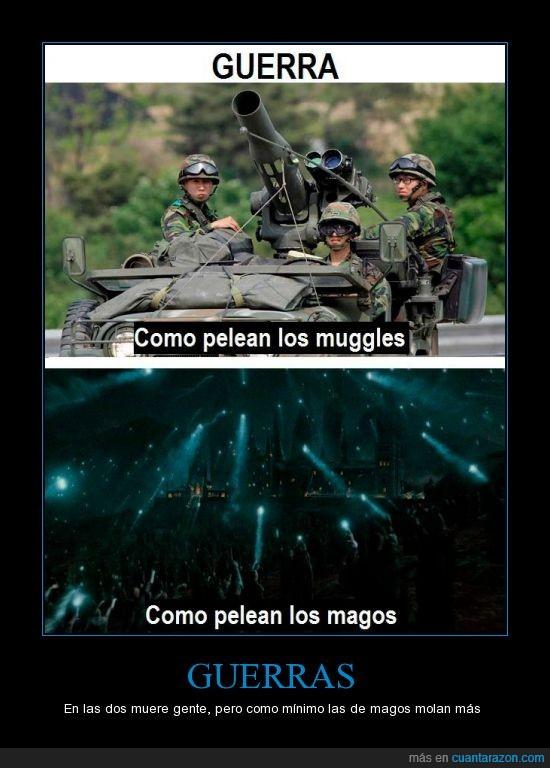 guerra,harry potter,luz,mago,militar,muggle,tanque,varita