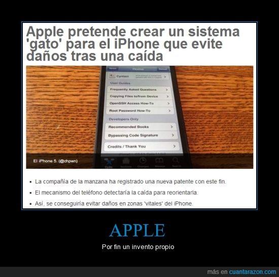 apple,caer,Demandas,innovación,mecanismo,pie