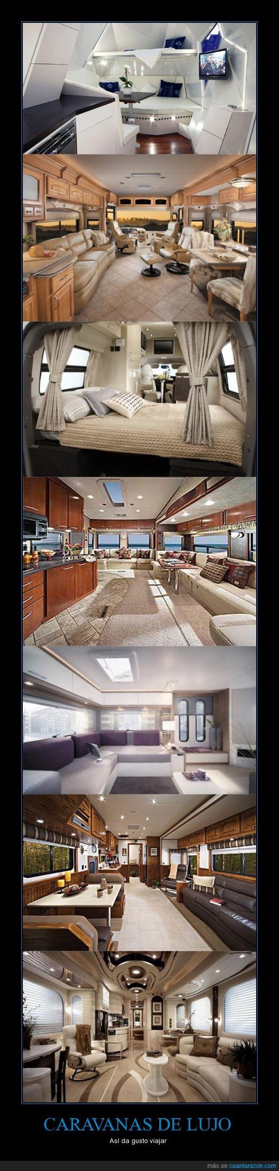 caravana,lujo,mejor que mi casa,rico