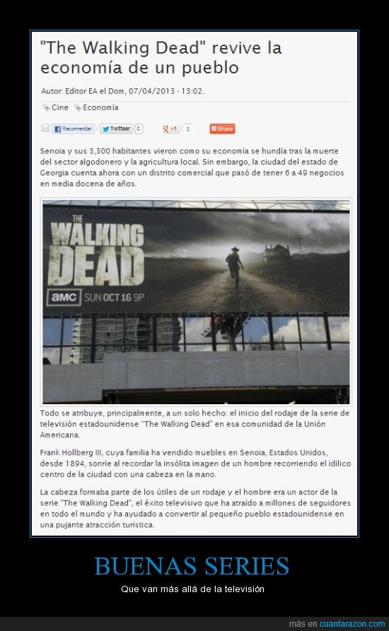 economia,levantar,series,televisón,The walking dead,TWD