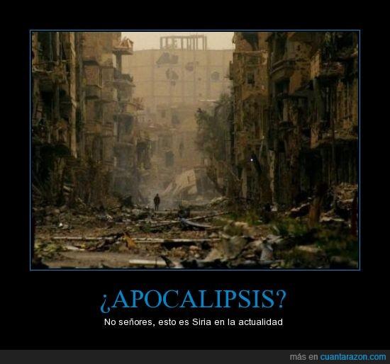 actualidad,apocalipsis,destrucción,edificios,guerra,hoy en día,muertes,país,ruinas,Siria
