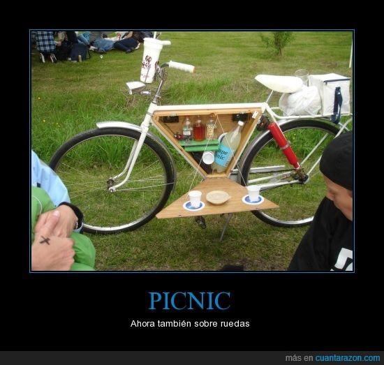 actualidad,bici,picnic,sobre ruedas