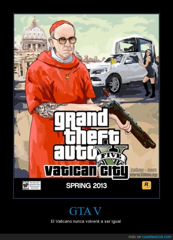 city,grand theft auto,GTA,vaticano