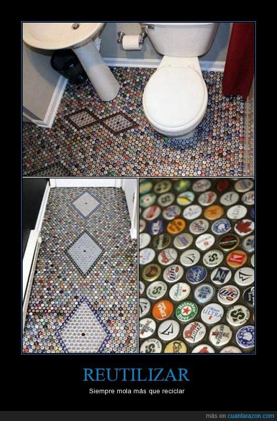 Birras,cervezas,chapas,originalidad,WC