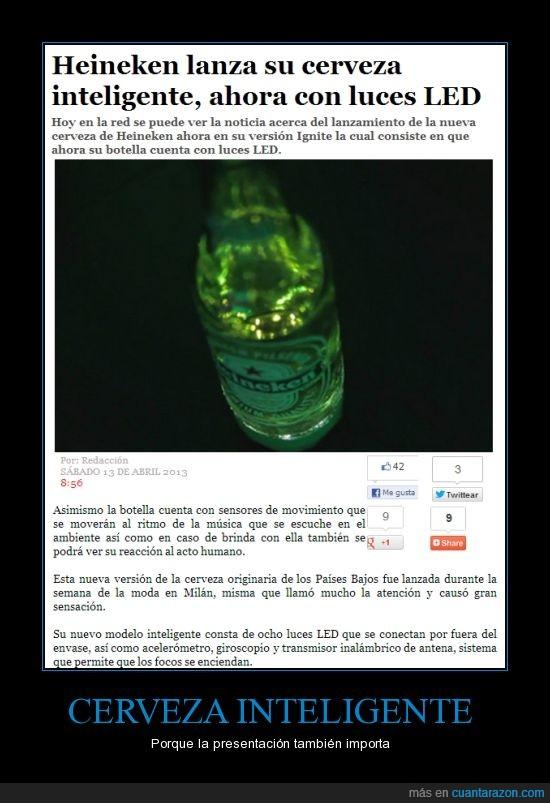 alcohol,cerveza,heineken,LED,noticia