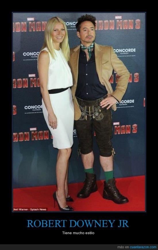 estilo,Iron Man 3,Robert Downey Jr,un par de cojones
