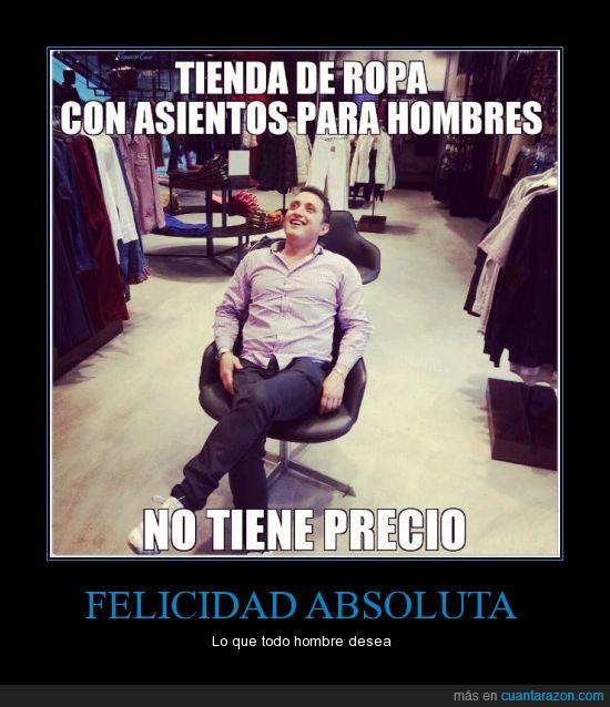 Andres Lopez,comediante,mujeres,no tiene precio,silla,tienda de ropas