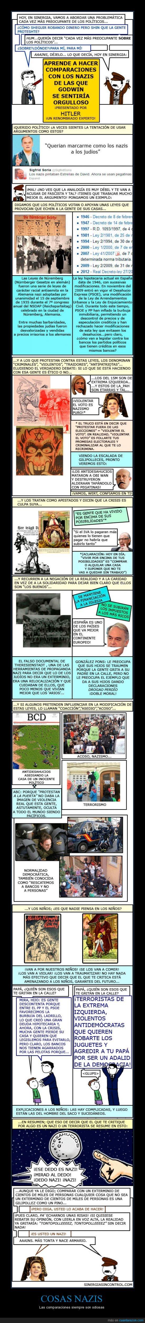 comparaciones odiosas,españa,nazis,políticos,sinergiasincontrol