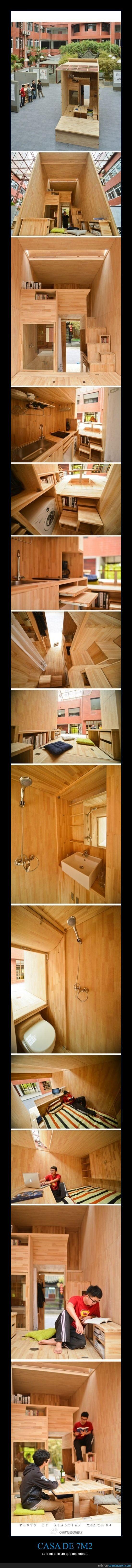 7m2,arquitecto,casa,madera,metros cuadrados,pequeña